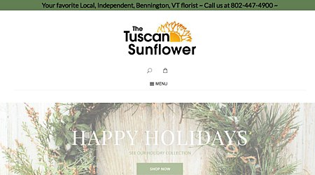 The Tuscan Sunflower