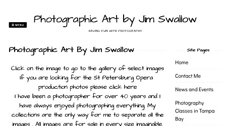 Photographic Art by Jim Swallow