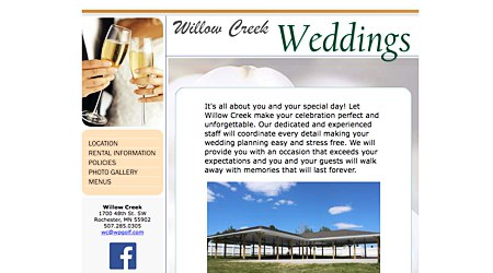 Willow Creek Weddings