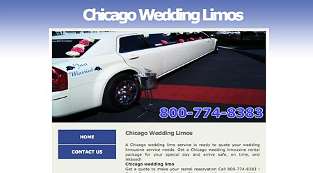 Chicago Wedding Limos