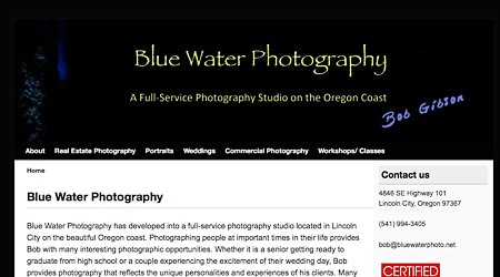 Blue Water Photography
