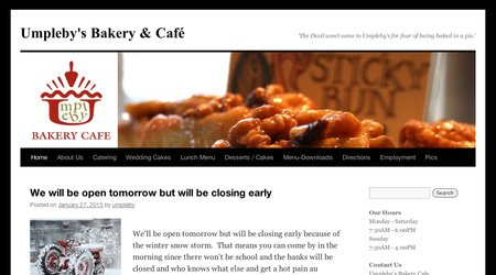 Umpleby's Bakery & Cafe