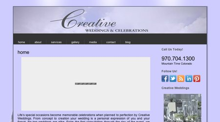 Creative Weddings & Celebrations