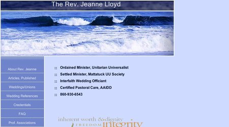 The Rev. Jeanne Lloyd