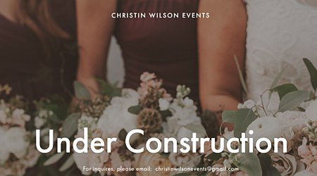 Christin Wilson Events