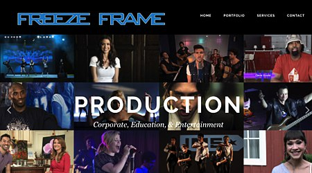 Freeze Frame Video Production