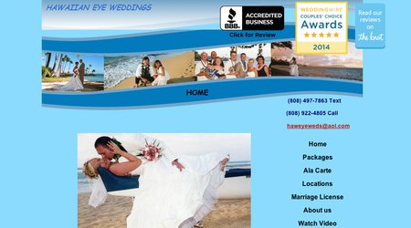 Hawaiian Eye Weddings