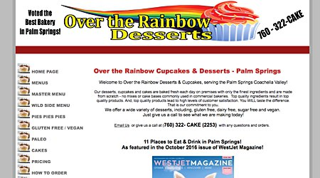Over the Rainbow Cupcakes & Desserts
