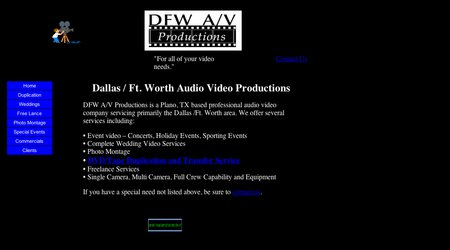 DFW A/V Productions