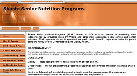 Shasta Senior Nutrition Programs