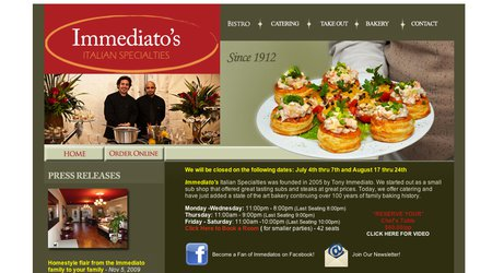 Immediato's Italian Catering
