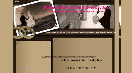 Petals Flowers and Events