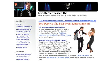 Middle Tennessee DJ