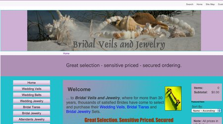 Bridal Veils & Jewelry