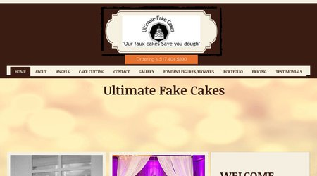 Ultimate Fake Cakes