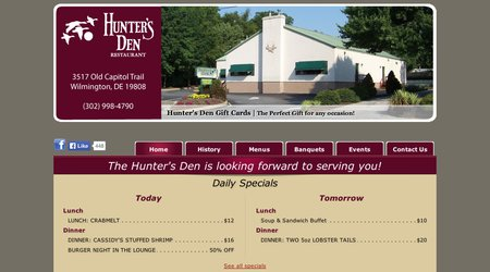 Hunter's Den Restaurant