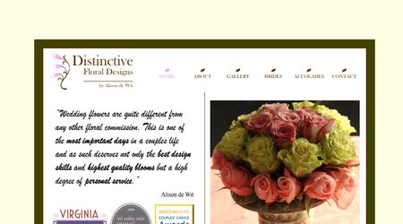 Distinctive Floral Design