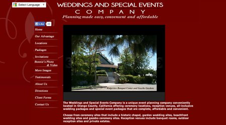Weddings and Special Events Company