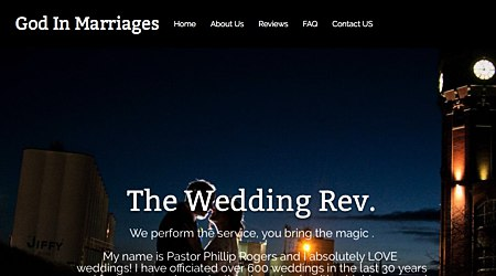 Phillip Rogers, Wedding Minister