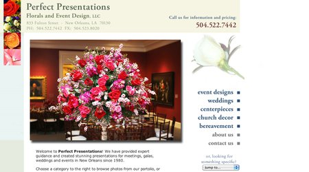 Perfect Presentations Florals and Event Design