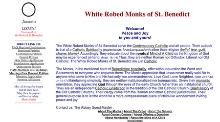 White Robed Monks of St. Benedict