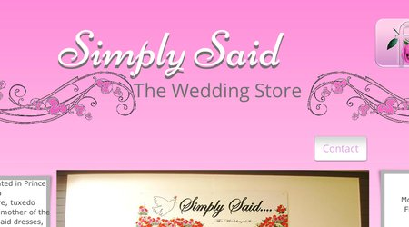 Simply Said - The Wedding Store