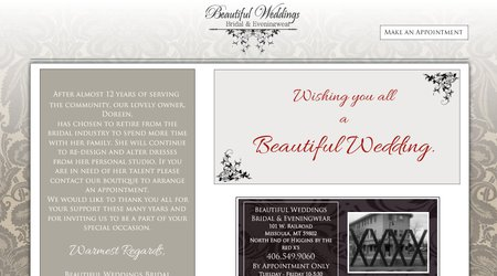 Beautiful Weddings Bridal & Evening Wear
