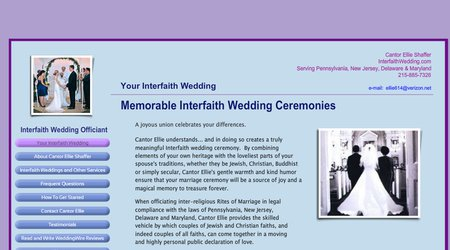 Interfaith Wedding Officiant