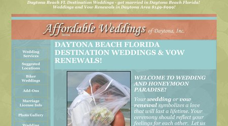 Affordable Weddings & Vow Renewals