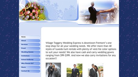 Village Toggery Wedding Express