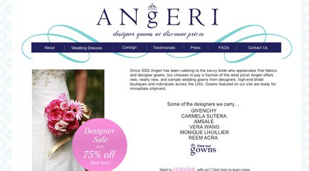 Angeri - Designer Gowns