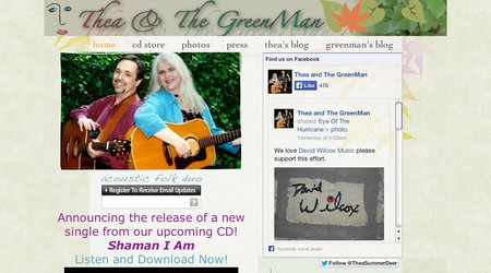 Thea & The GreenMan
