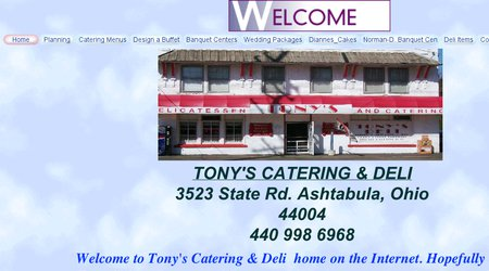 Tony's Catering & Deli