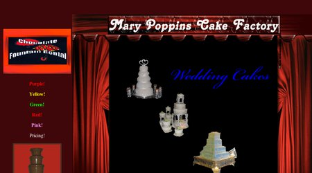 Mary Poppins Cake Factory