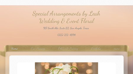 Special Arrangements By Leah