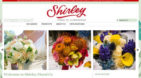 Shirley Floral Co & Greenhouse