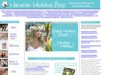 Hawaiian Wedding Shop