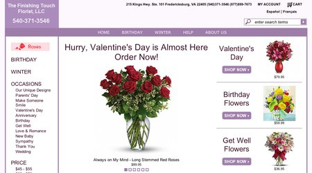 Finishing Touch Florist