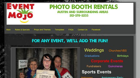 Event Mojo Photo Booth Rentals