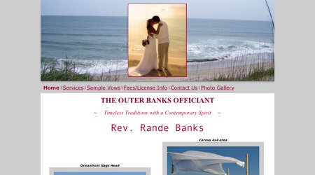 Rev. Rande Banks - The Outer Banks Officiant