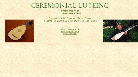 Ceremonial Luteing
