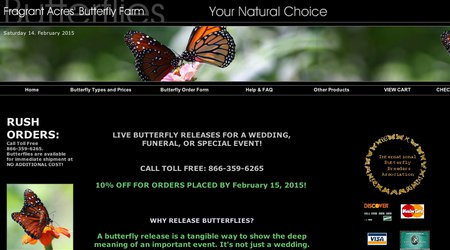 Fragrant Acres' Butterfly Farm