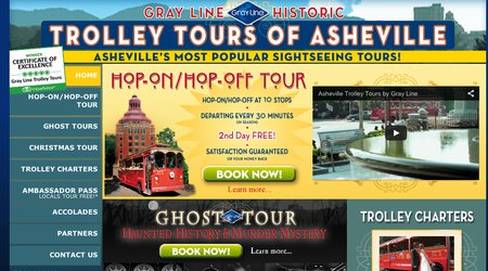 Gray Line Trolley - Asheville