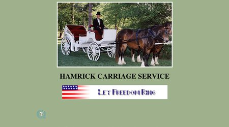 Hamrick Carriage Service