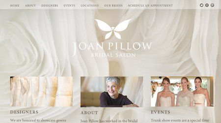 Joan Pillow Bridal Boutique