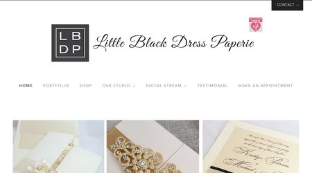 Little Black Dress Paperie