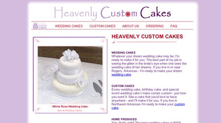 Heavenly Custom Cakes