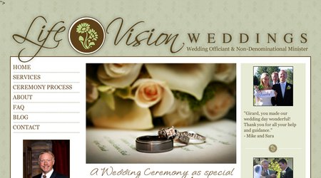 Life Vision Wedding Ceremonies