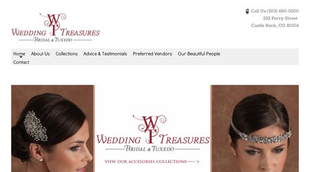 Wedding Treasures Bridal & Tuxedo