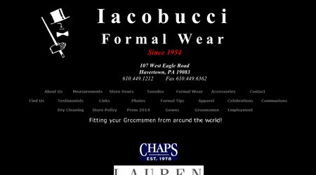 Iacobucci Formal Wear
